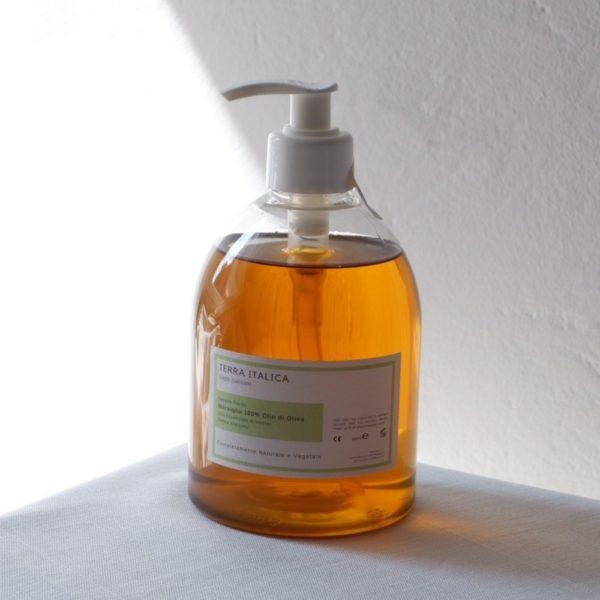 sapone fluido marsiglia 100% olio di oliva